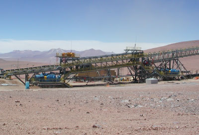 Copper Ore Conveyor