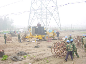 Puller and Tensioner Equipment for Jiangsu Power