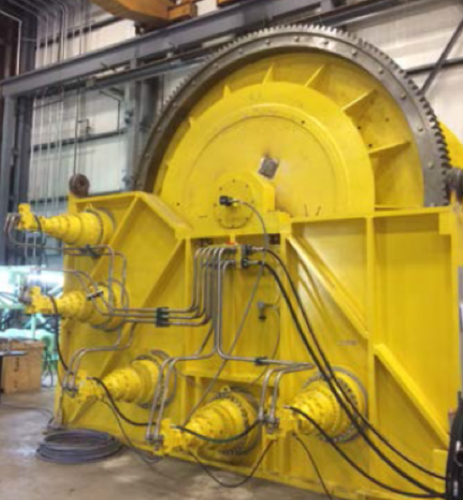 Riser Messenger Winches For Offshore Vessels