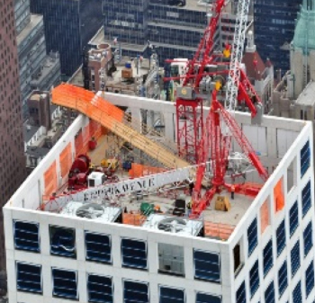 Tower Crane Dismantling 432 Park Avenue